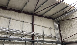Banff Warehouse Icynene Project