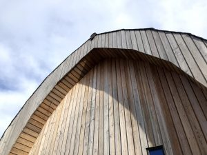 Icynene Project Curved Roof