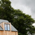 Scottish larch cladding and roof photo