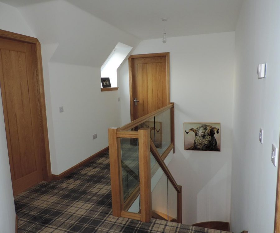 Newton of plaidy up stairs hall